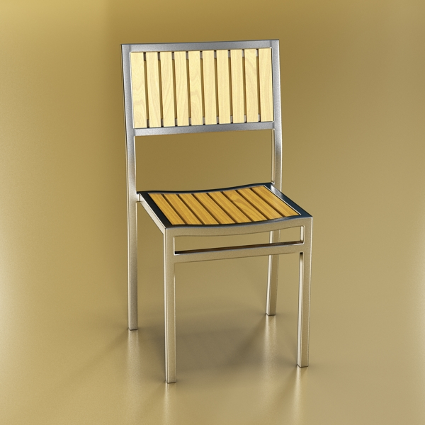 Outdoor Chair ( 166.36KB jpg by VKModels )