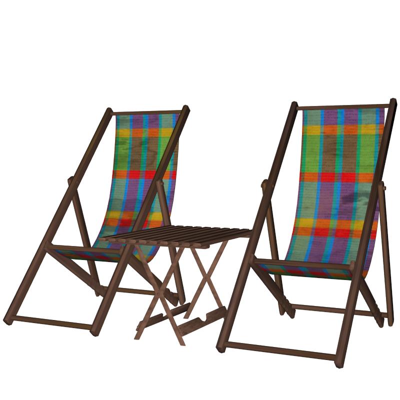 Patio furniture 3d model buy patio furniture 3d model for Outdoor furniture 3d model