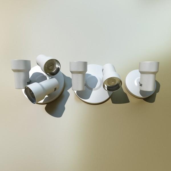 photoreal lighting fixtures 3d model 3ds max fbx obj 134729