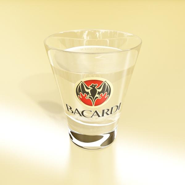 Bacardi Glasses