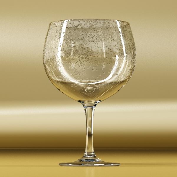 photorealistic glass 03 3d model 3ds max fbx obj 140716