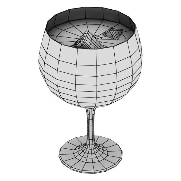 photorealistic glass 03 3d model 3ds max fbx obj 140719