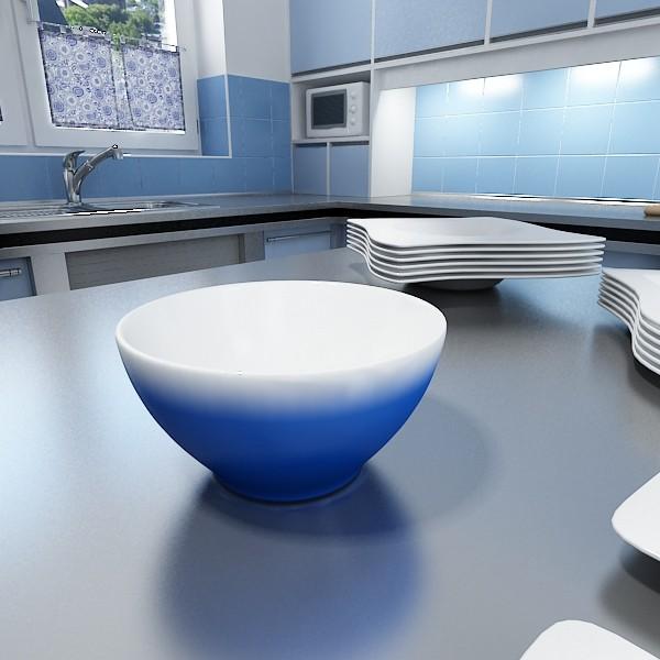 photorealistic strawberries in bowl 3d model 3ds max fbx obj 133204