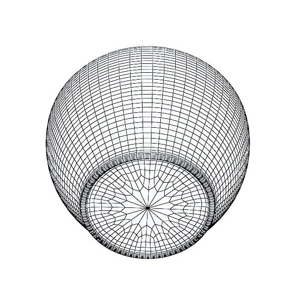photorealistic strawberries in bowl 3d model 3ds max fbx obj 133213