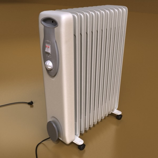 portable radiator high detailed 3d model max fbx obj 131537