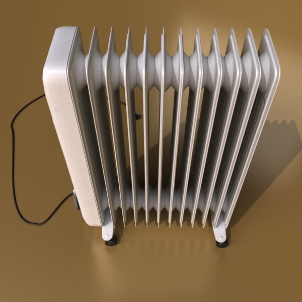 portable radiator high detailed 3d model max fbx obj 131538
