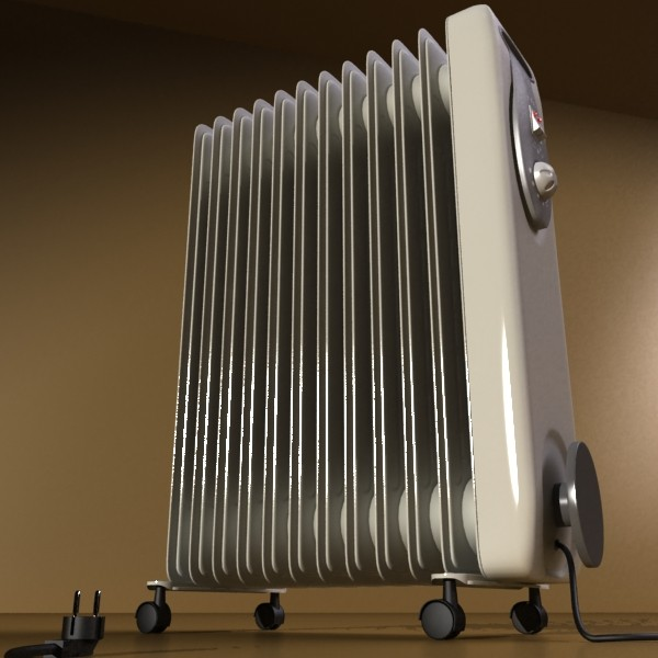 portable radiator high detailed 3d model max fbx obj 131539