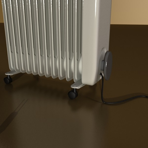 portable radiator high detailed 3d model max fbx obj 131543