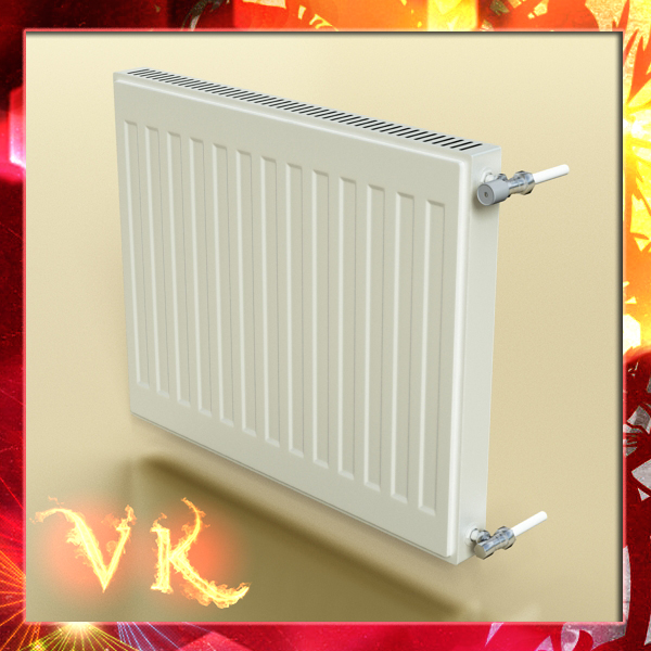 radiator 4 3d model 3ds max fbx obj 148444