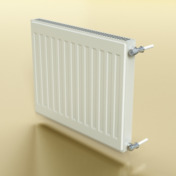 radiator 4 3d model 3ds max fbx obj 148445