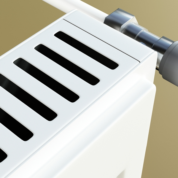 radiator 4 3d model 3ds max fbx obj 148448