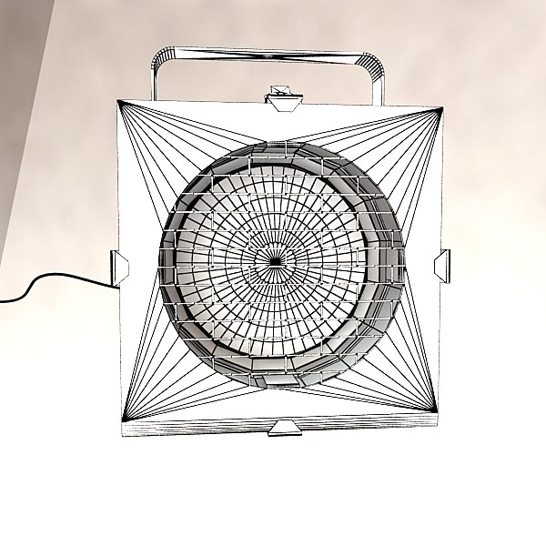 realistic stage lights collection 6 items 3d model max fbx obj 130825