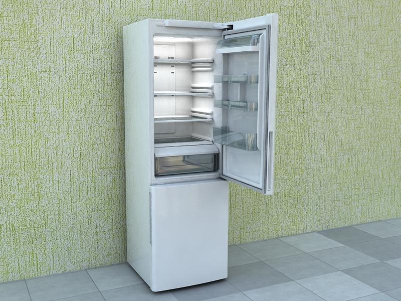 refrigerator samsung 3d model max 156224