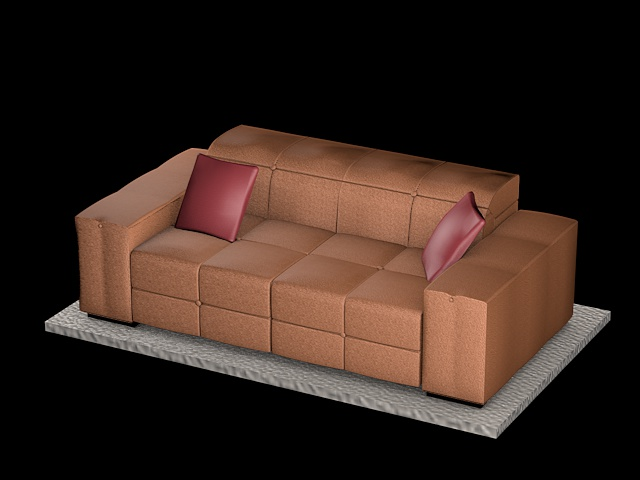 sofa natuzzi surround_v009 3d model 3ds dxf c4d dae png  obj 148165