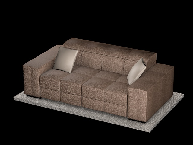 sofa natuzzi surround_v009 3d model 3ds dxf c4d dae png  obj 148168