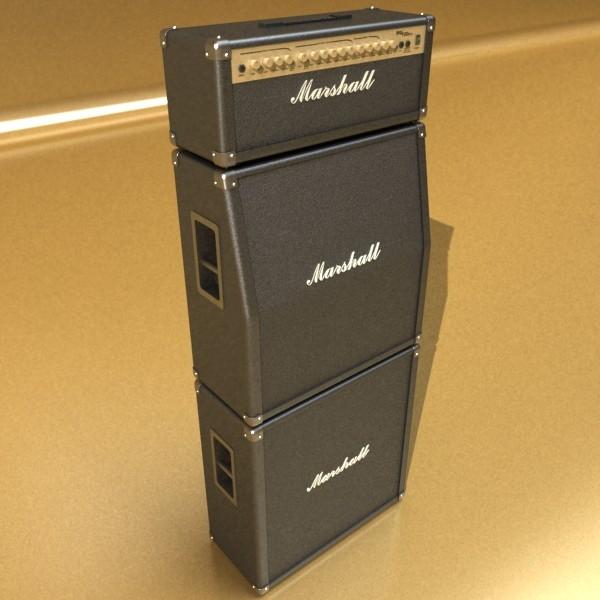 stage amplifier high detail 3d model max fbx obj 131079