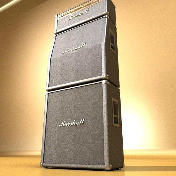 stage amplifier high detail 3d model max fbx obj 131080