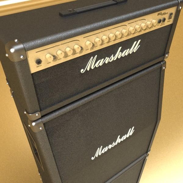 stage amplifier high detail 3d model max fbx obj 131081
