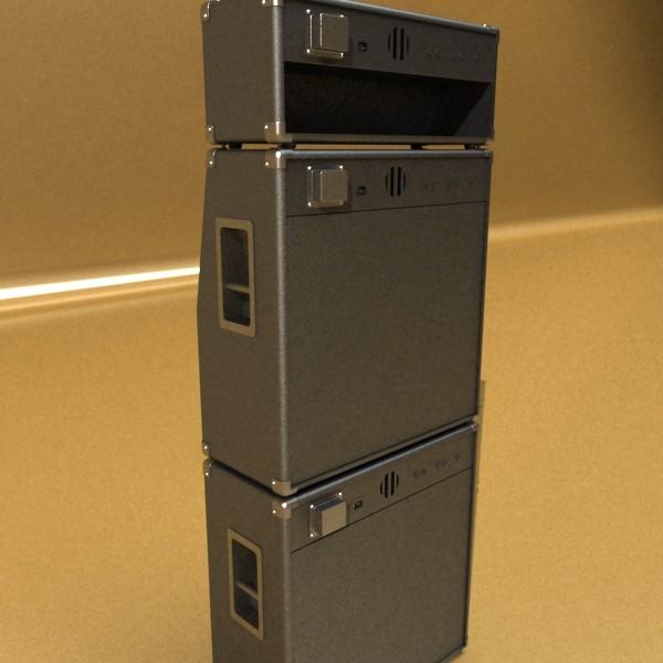 stage amplifier high detail 3d model max fbx obj 131082