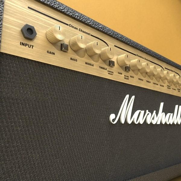 stage amplifier high detail 3d model max fbx obj 131086