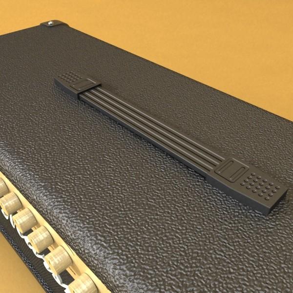 stage amplifier high detail 3d model max fbx obj 131087