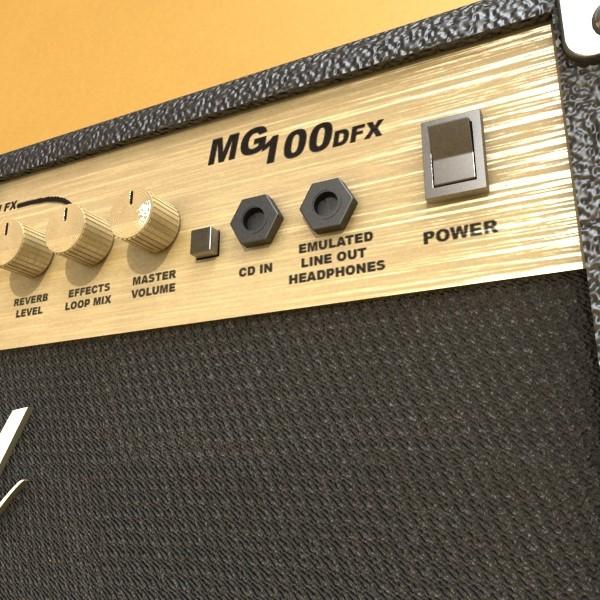 stage amplifier high detail 3d model max fbx obj 131088