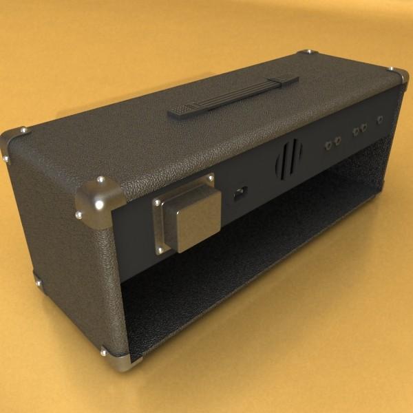 stage amplifier high detail 3d model max fbx obj 131090