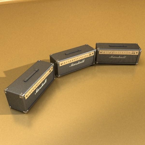 stage amplifier high detail 3d model max fbx obj 131092