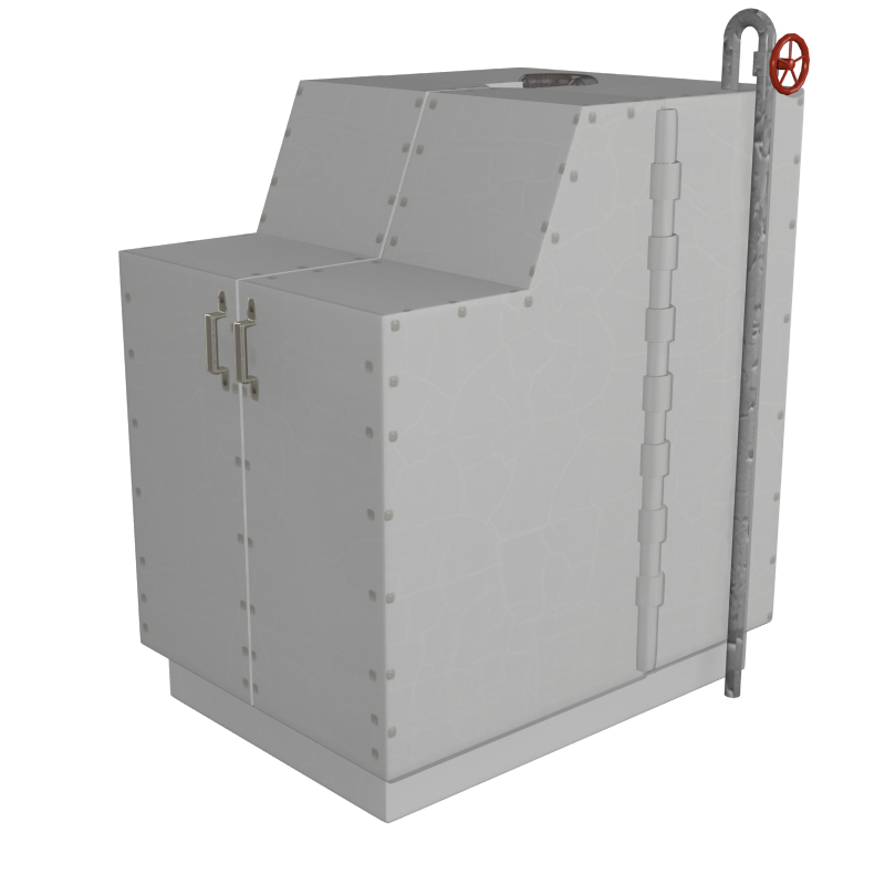 sweatbox 3d model obj 147610