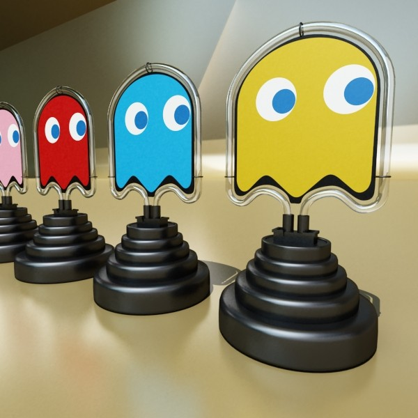table lamp pac man сүнс 3d загвар 3ds max fbx 134895