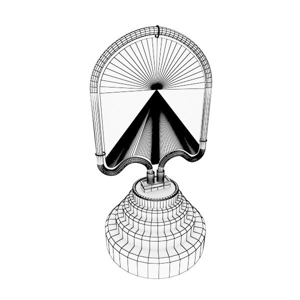 galda lampa pac man spoku 3d modelis 3ds max fbx 134897