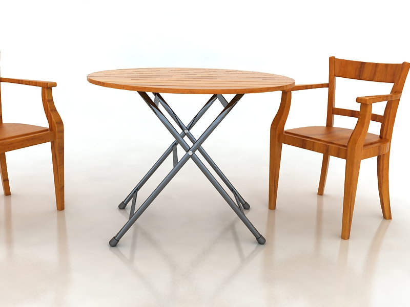 table with chairs 3d model max 156328