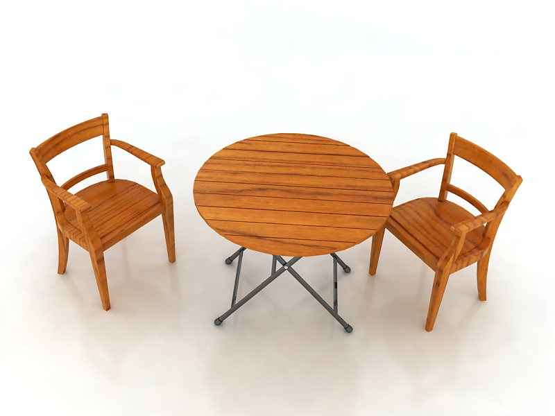 Table with Chairs ( 180.99KB jpg by S.E )