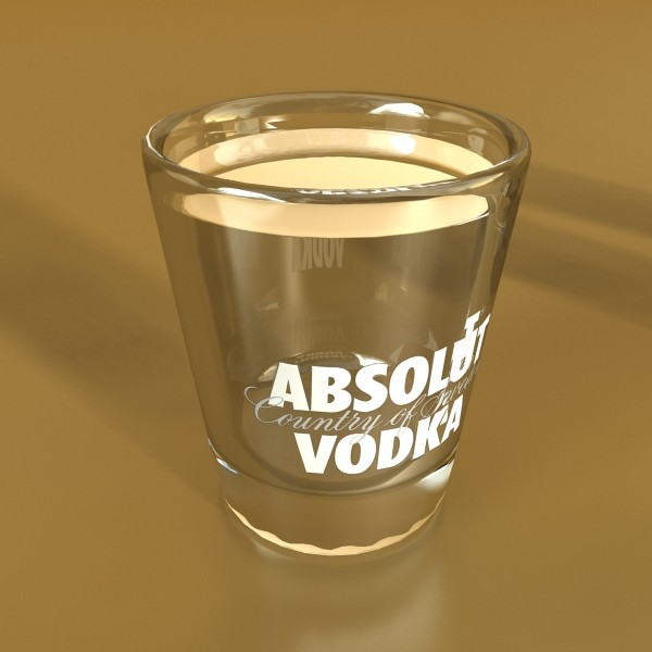 vodka absolut collection 3d model 3ds max fbx obj 136002