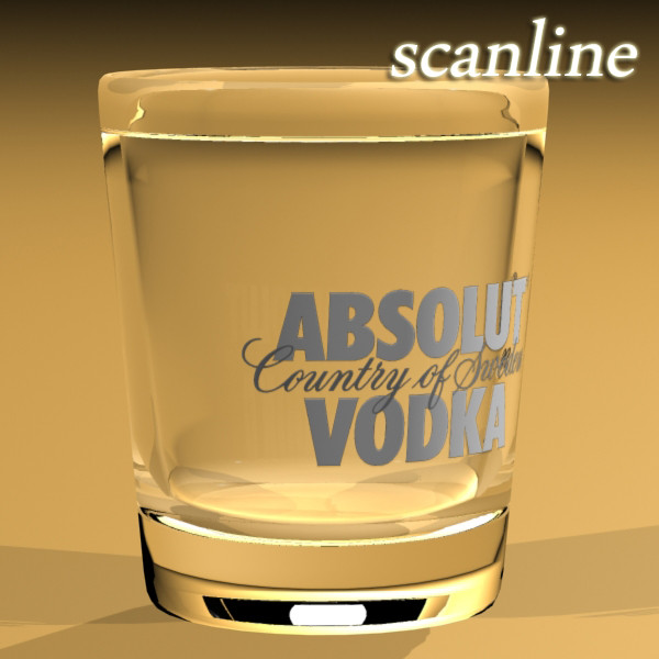 vodka absolut collection 3d model 3ds max fbx obj 136006