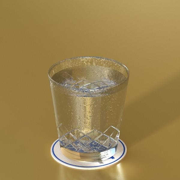 vodka cocktail glass 3d model 3ds max fbx obj 136022