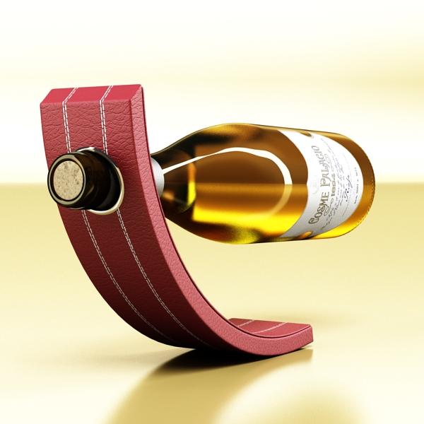 дарс өлгүүр 5, цагаан дарсны лонх 3d загвар 3ds хамгийн их fbx obj 146164