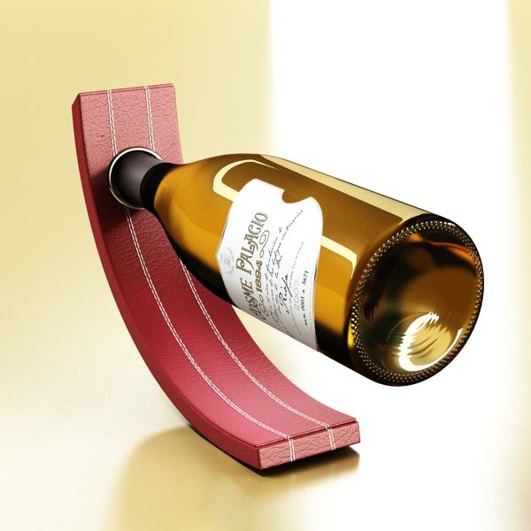 дарс өлгүүр 5, цагаан дарсны лонх 3d загвар 3ds хамгийн их fbx obj 146165