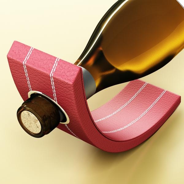 дарс өлгүүр 5, цагаан дарсны лонх 3d загвар 3ds хамгийн их fbx obj 146166