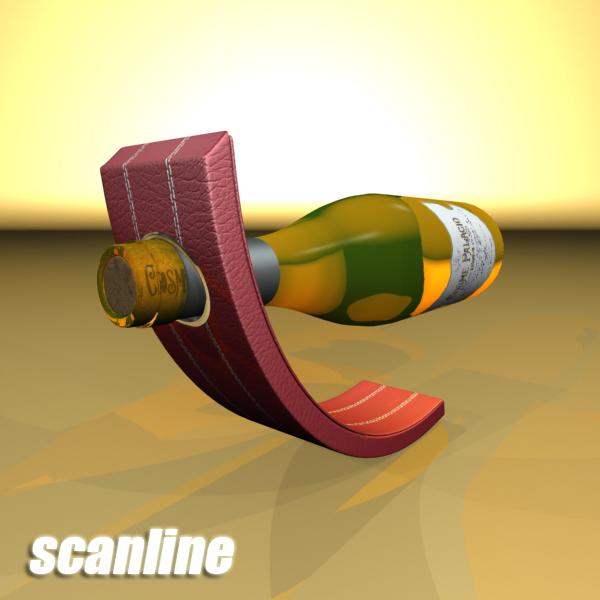 дарс өлгүүр 5, цагаан дарсны лонх 3d загвар 3ds хамгийн их fbx obj 146169