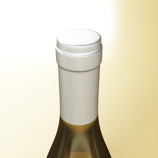дарс өлгүүр 5, цагаан дарсны лонх 3d загвар 3ds хамгийн их fbx obj 146174