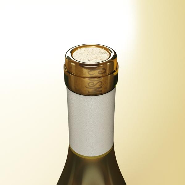 дарс өлгүүр 5, цагаан дарсны лонх 3d загвар 3ds хамгийн их fbx obj 146175