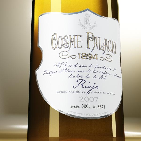 дарс өлгүүр 5, цагаан дарсны лонх 3d загвар 3ds хамгийн их fbx obj 146177