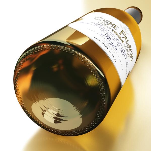 дарс өлгүүр 5, цагаан дарсны лонх 3d загвар 3ds хамгийн их fbx obj 146179