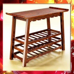 Wine Table Rack 2. ( 347.9KB jpg by VKModels )
