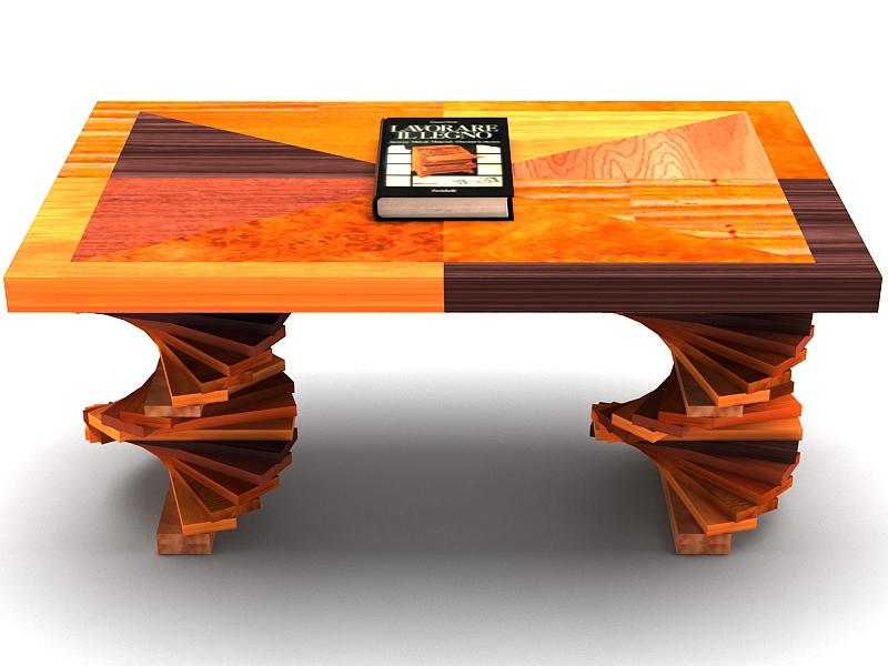 wood parquet table 3d model max 147792