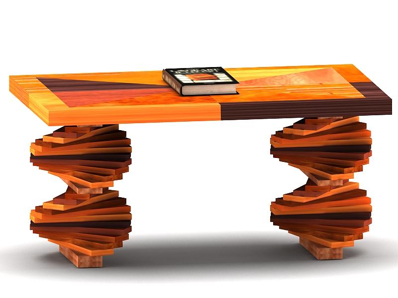 wood parquet table 3d model max 147793