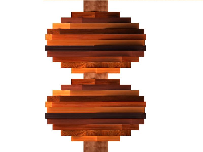 wood parquet table 3d model max 147798