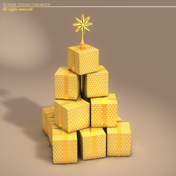 xmas gift box tree 7798kb jpg by tartino - Christmas Tree Boxes