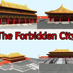 The Forbidden City -- Three Big Place 3d model 0